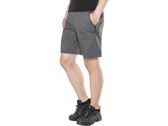Jack Wolfskin Active Track Shorts Men dark iron